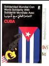 World solidarity with Cuba.